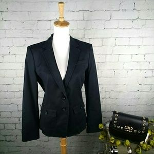 EUC Banana Republic black career blazer w/ pockets